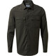 Craghoppers Adventure Trek Longsleeve Shirt Men Dark Khaki
